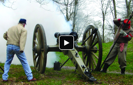 Clarksville Foundry casts reproduction cannon