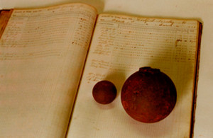 Whitfield Bradley &Company, predecessor of the present-day Clarksville Foundry, produced cannon balls during the Civil War.