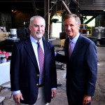 Charles Fous, Jr. with Gov. Bill Haslam, May 2013