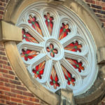 Clarksville Foundry produced the aluminum frames to restore the rosette windows at First Presbyterian Church in Clarksville, Tenn.