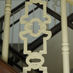Historic railing reproductions in the Ryman Auditorium