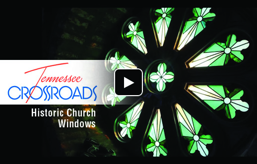 Tennessee Crossroads Airs Piece on Rosette Window Restoration in Clarksville