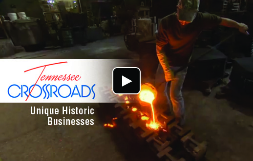 Tennessee Crossroads films piece on Clarksville Foundry's history